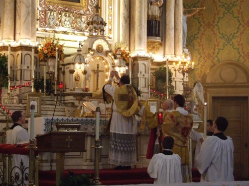 The Consecration at Mass